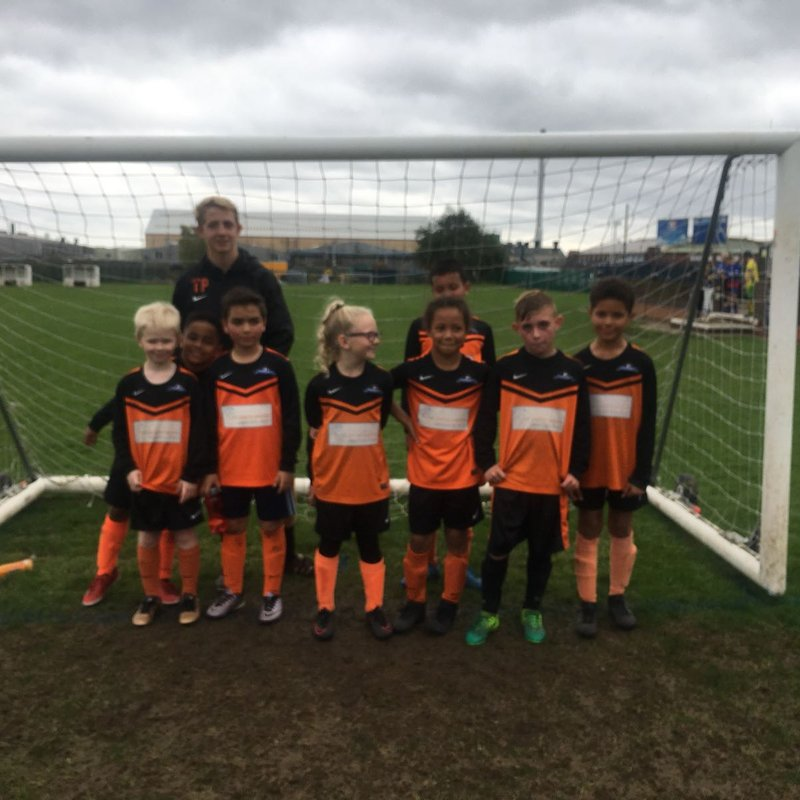 Under 11's - Sunday  lose to Mickleover  3 - 9