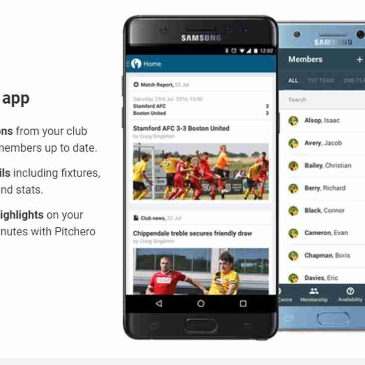 Pitchero App