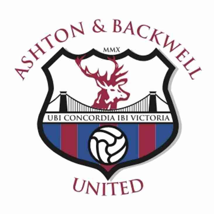 ASHTON & BACKWELL Utd SUPPORTS BRISTOL HOMELESS CHARITY