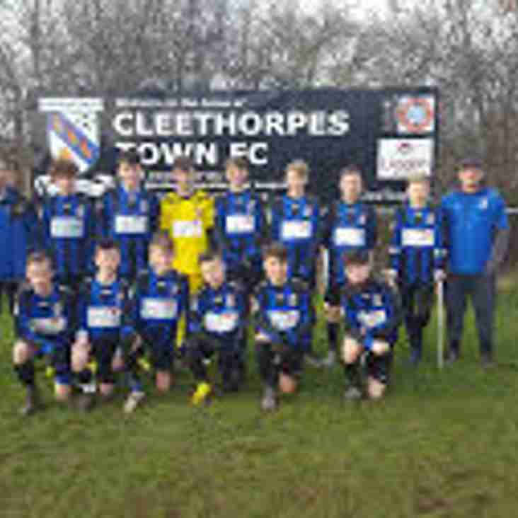 Under 15's through in the under 16 County Cup