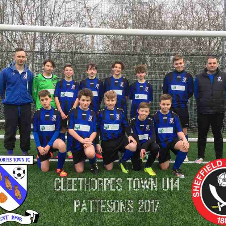 U14 Pattesons v SUFC in Sheffield
