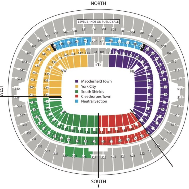 FA Vase Final Tickets (5)