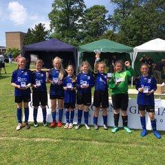 Under 12 Girls at Cottingham