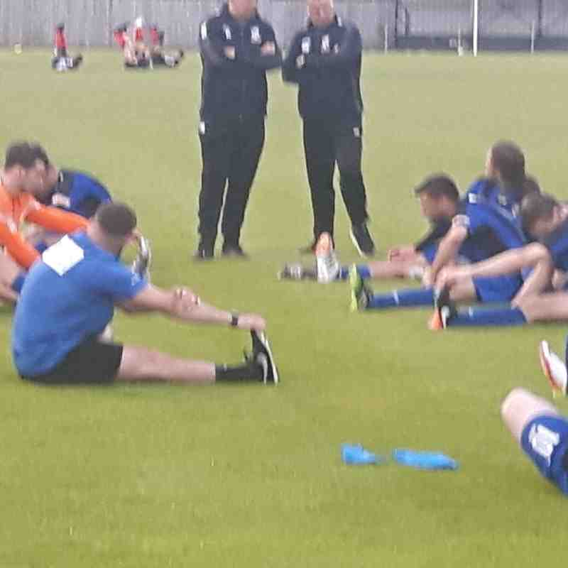 Warm Down after Grimsby Town Game