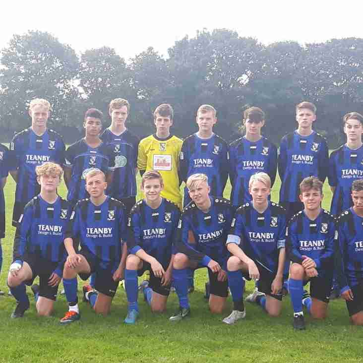 Under 18's Start the season with a victory