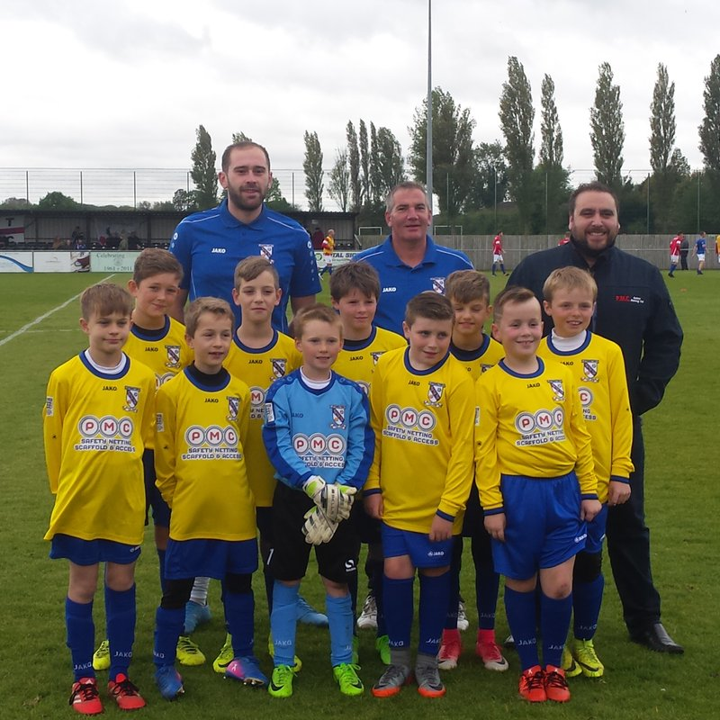 Perfect Time to introduce youngsters to football with Cleethorpes Town