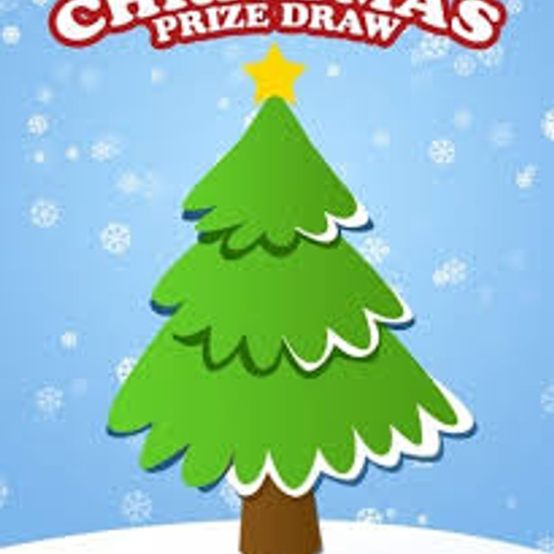 Christmas Draw Tickets Still available
