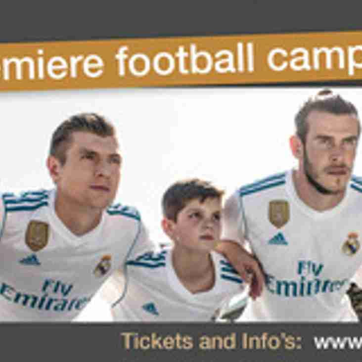 Real Madrid Clinic comes to Cleethorpes this summer