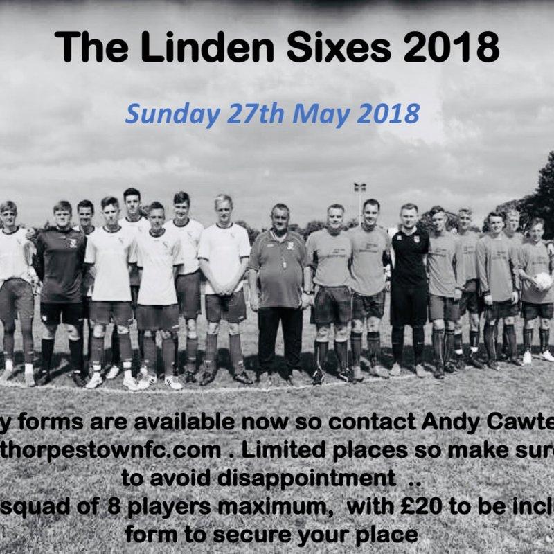 Linden Sixes - The Adult football tournament