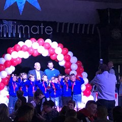 under 8's at League Presentation