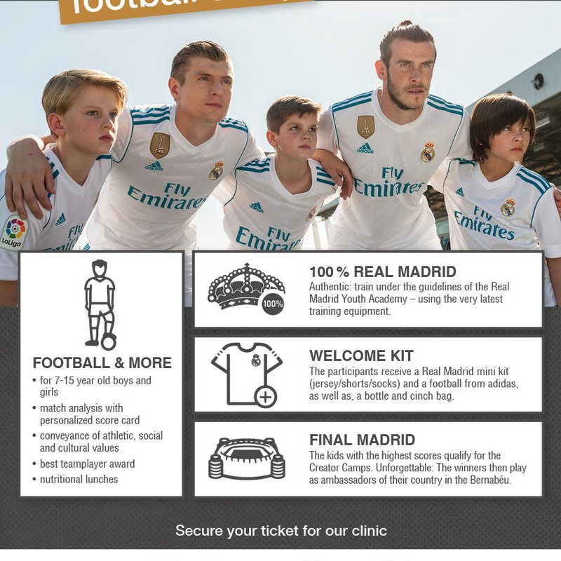 Real Madrid Clinic comes back to Cleethorpes next summer