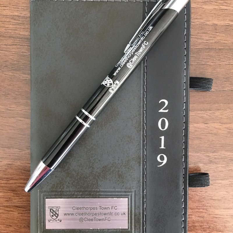 Cleethorpes Town Diary and Pen sets on Sale from Saturday