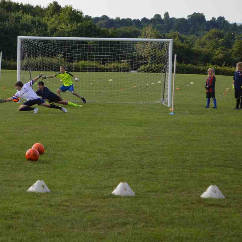 J4K Keeper training at Rusthall