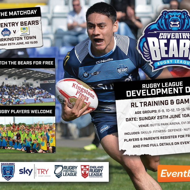 Coventry Bears Development Day