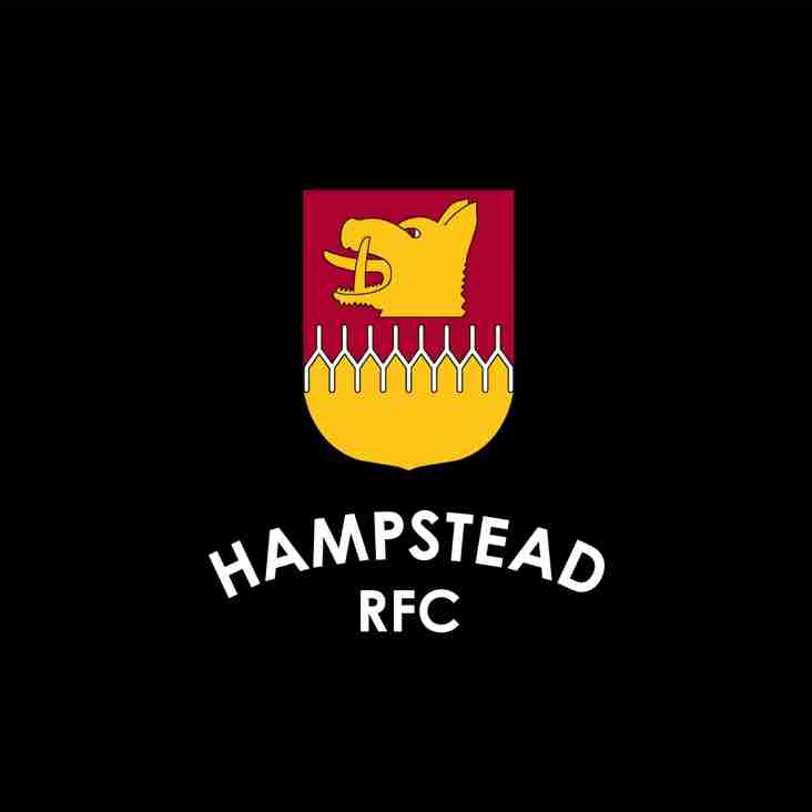 Rugby coaches - Hampstead are recruiting!