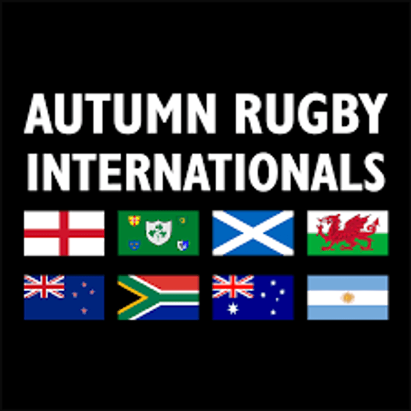 Autumn Rugby Internationals on the Big Screen