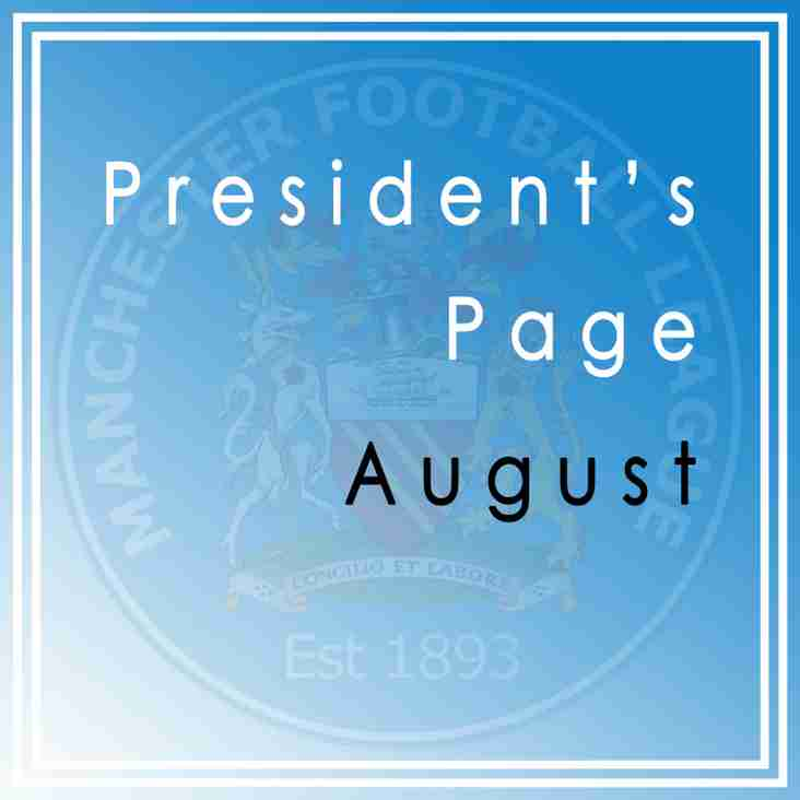 Presidents Page - Latest Blog Entry