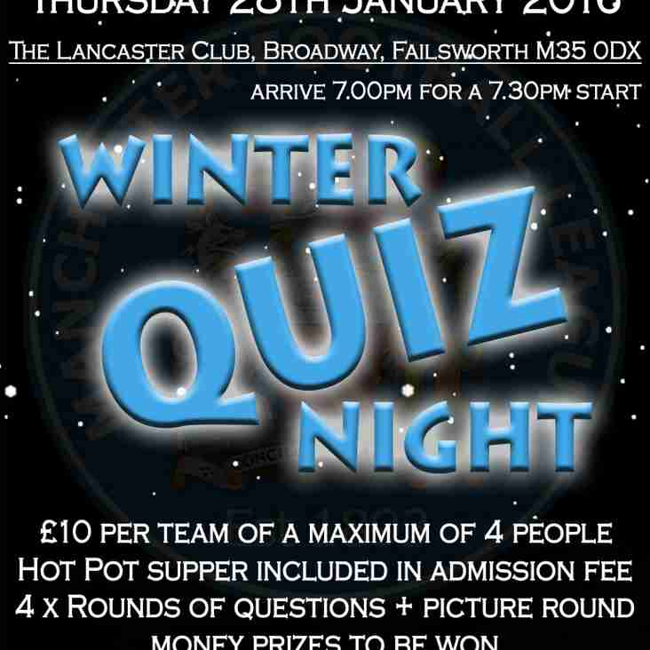 Winter Quiz Night