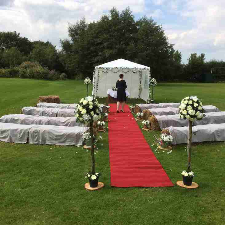 Club hosts First Wedding Ceremony