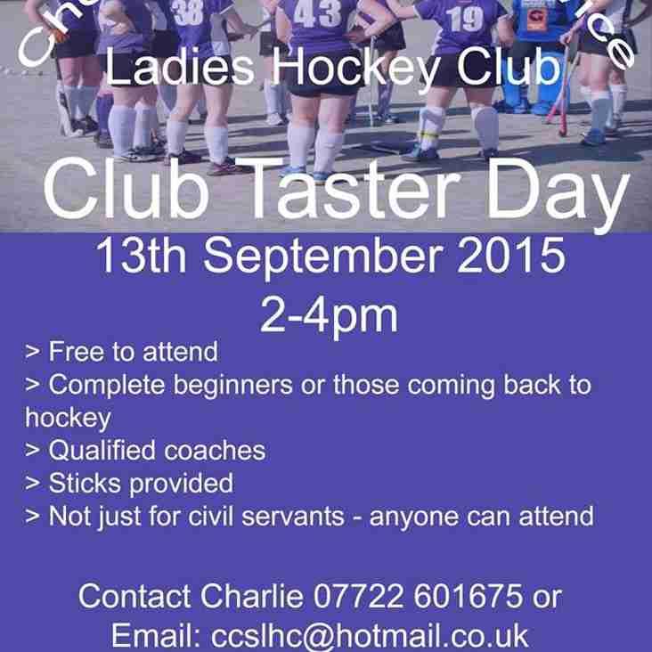 Ladies Hockey Taster Day