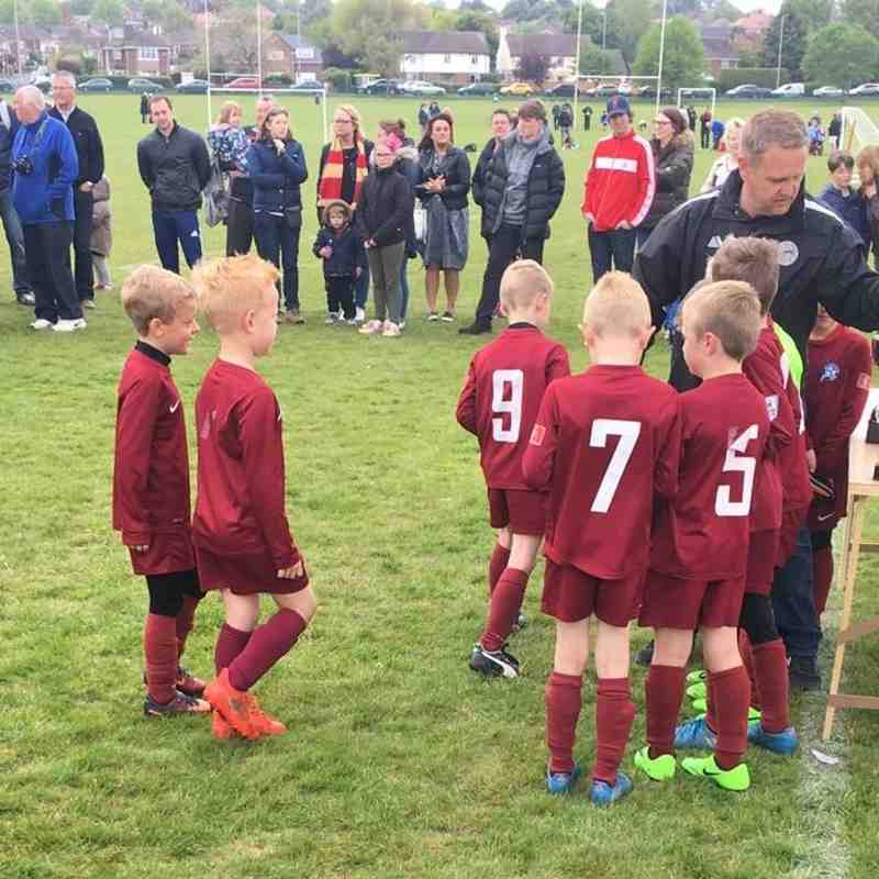 Cup Final Action and Presentation