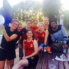 Hampstead ladies win silverware