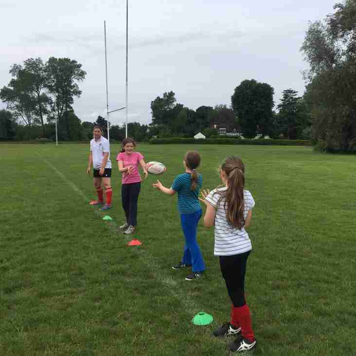 Tag Rugby for girls is back!