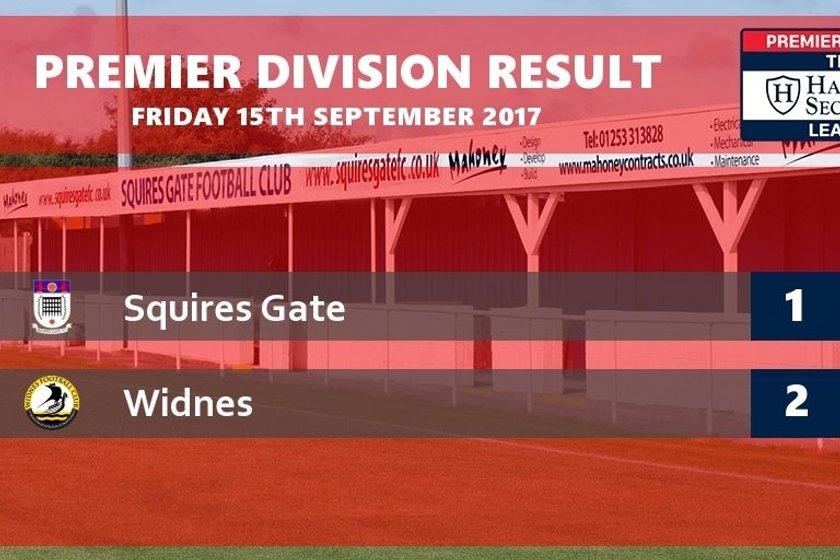 REPORT: Squires Gate 1-2 Widnes