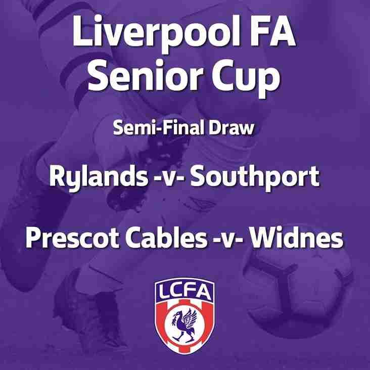 Liverpool Senior Cup: Semi-Final Date Confirmed
