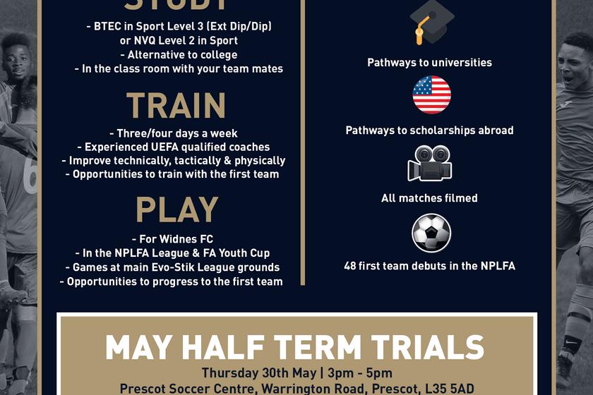 NPL Academy May Half Term Trials
