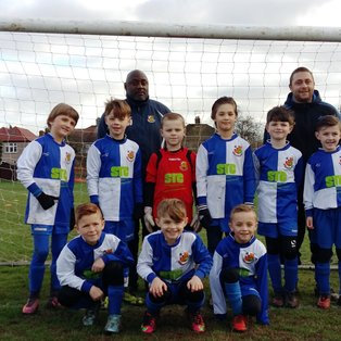 Wealdstone U8A vs TFA Totteridge A