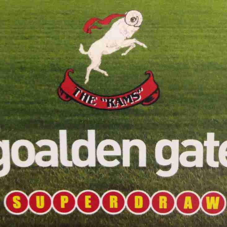 GOALDEN GATE SUPERDRAW: Week 19 Results