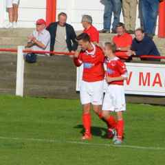 RAMSGATE U21s: Alfie Paxman's treble fires side to first victory
