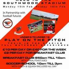 HALF_TERM SOCCER SCHOOL @ Ramsgate FC