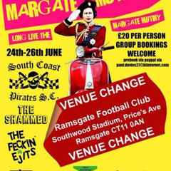 Margate Scooter Rally @ Southwood Stadium this Saturday 25th June