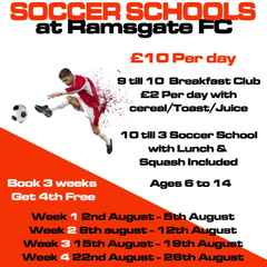 Soccer School returns this SUMMER @ Southwood