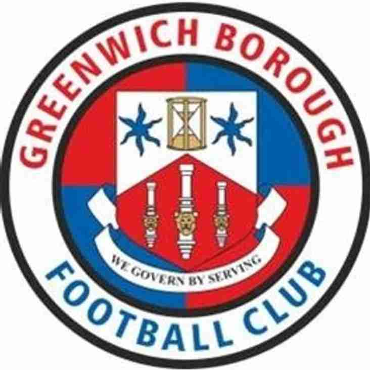 PREVIEW: Ramsgate v Greenwich Borough