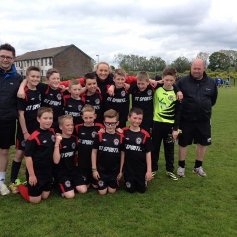 2002s under 13 lose to Toon 0 - 5