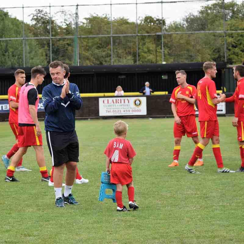 Rushall Olympic v Banbury United 1-1