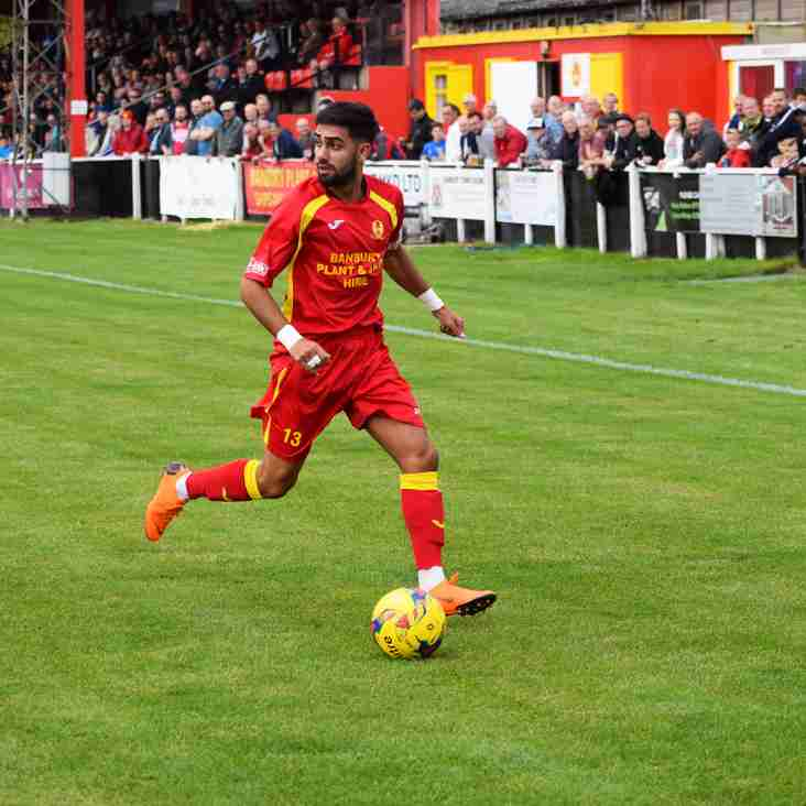 Ravi Shamsi is back on loan with the Puritans