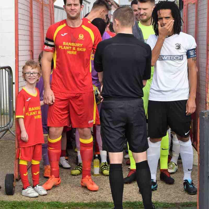 Banbury United 0 Royston 1 (1st half)