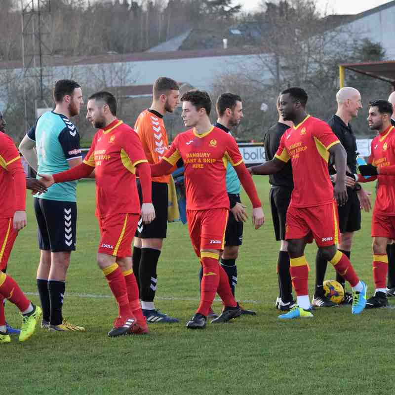 Banbury United 2 Rushall Olympic 1