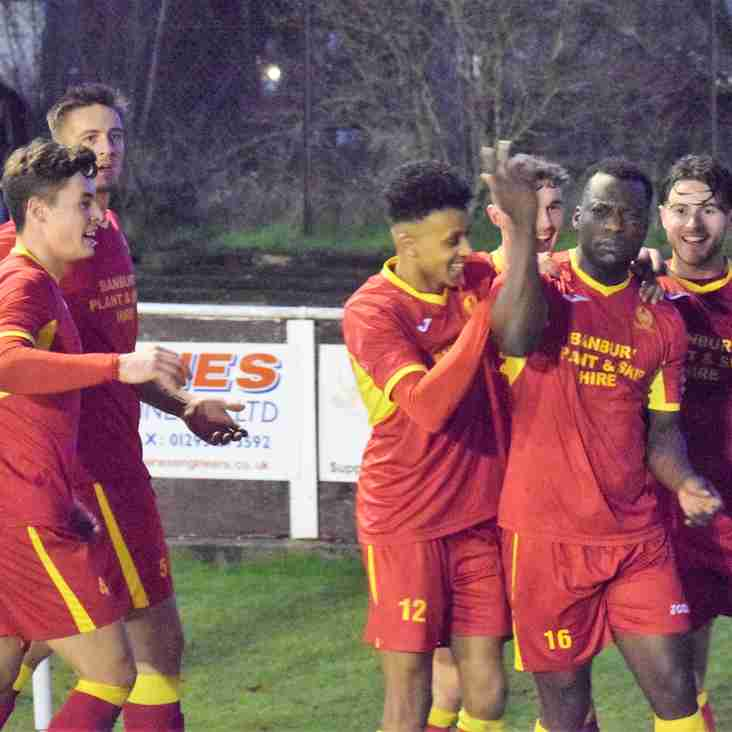 Banbury United 2 Rushall Olympic 1 – Match Report