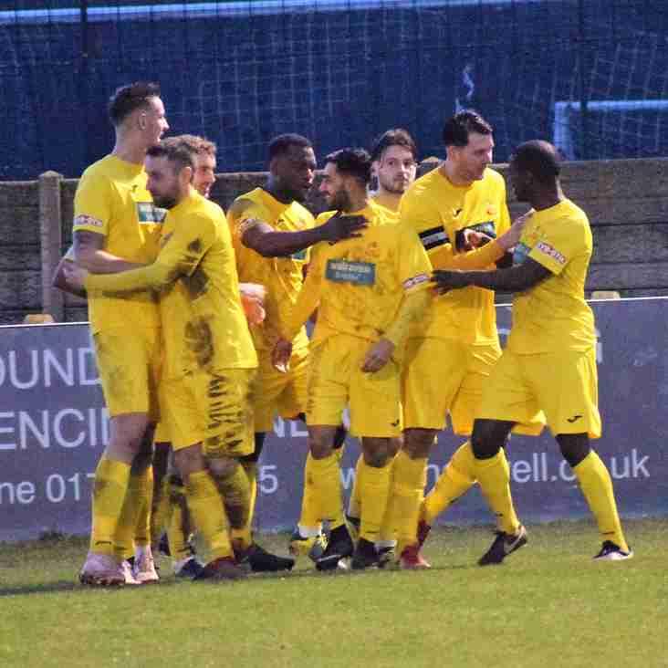 Stratford Town 2 Banbury United 1 – Match Report