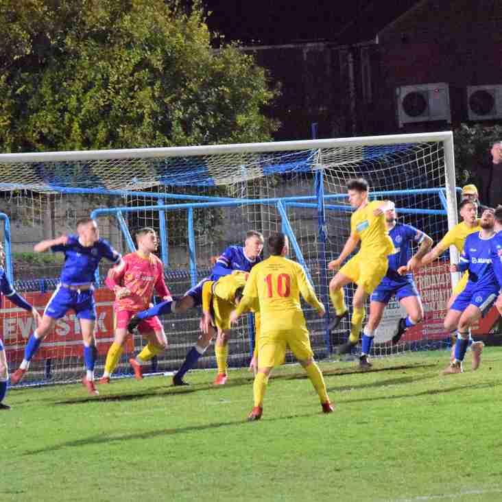 Halesowen Town 2 Banbury United 0 – Match Report