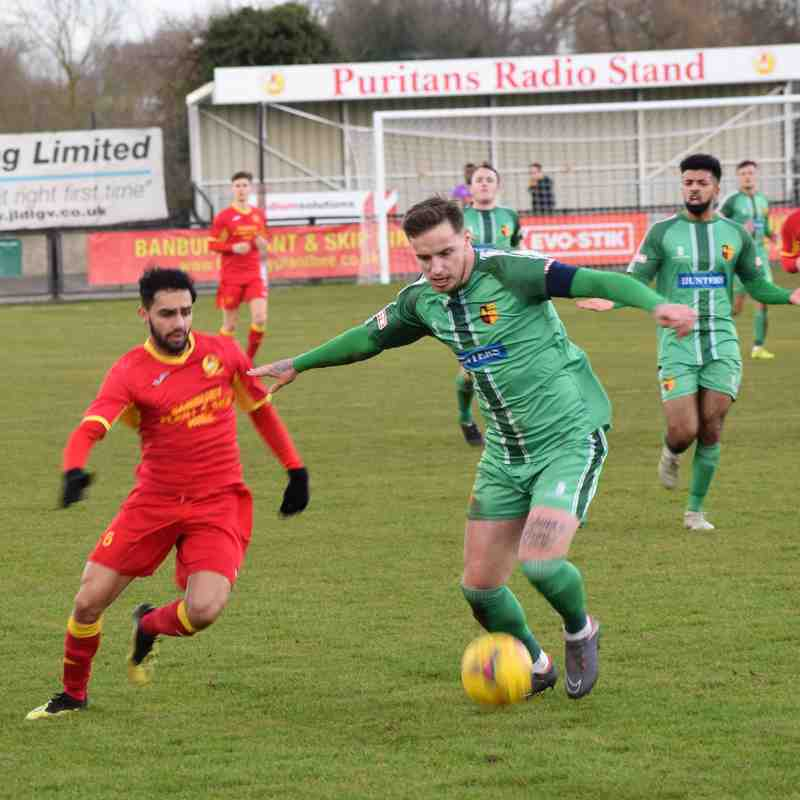 Banbury United 3 Alvechurch 1
