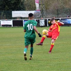 Banbury United U18's 1 Bedworth United U18's 1 (Banbury win after penalty shoot out)
