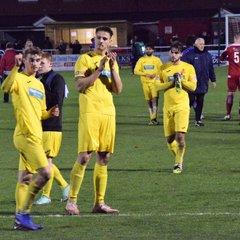 Stourbridge 2 Banbury United 0