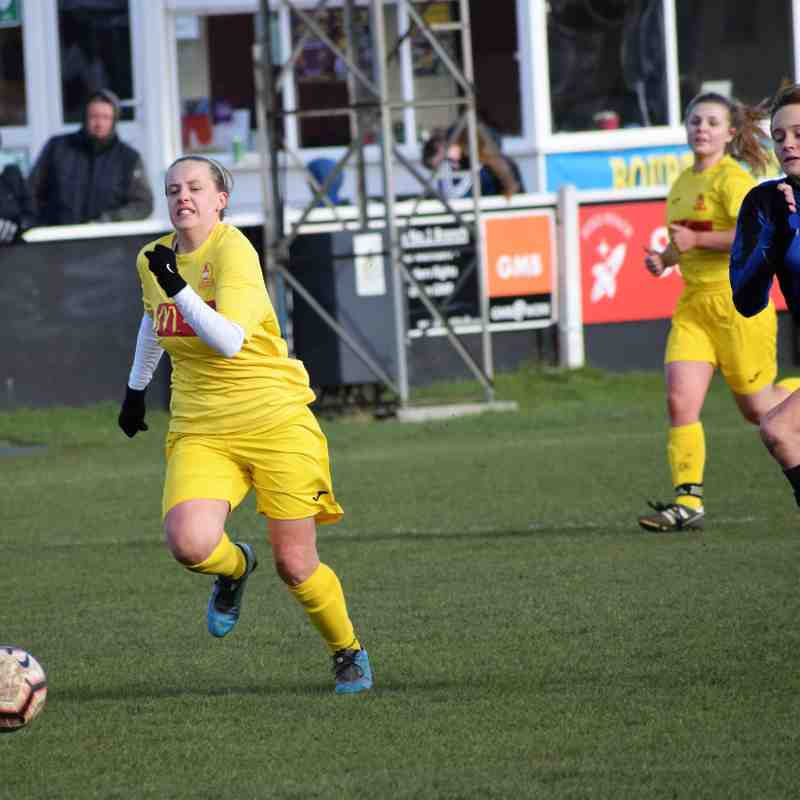 Banbury Devs 4 v Haddenham Ladies 0