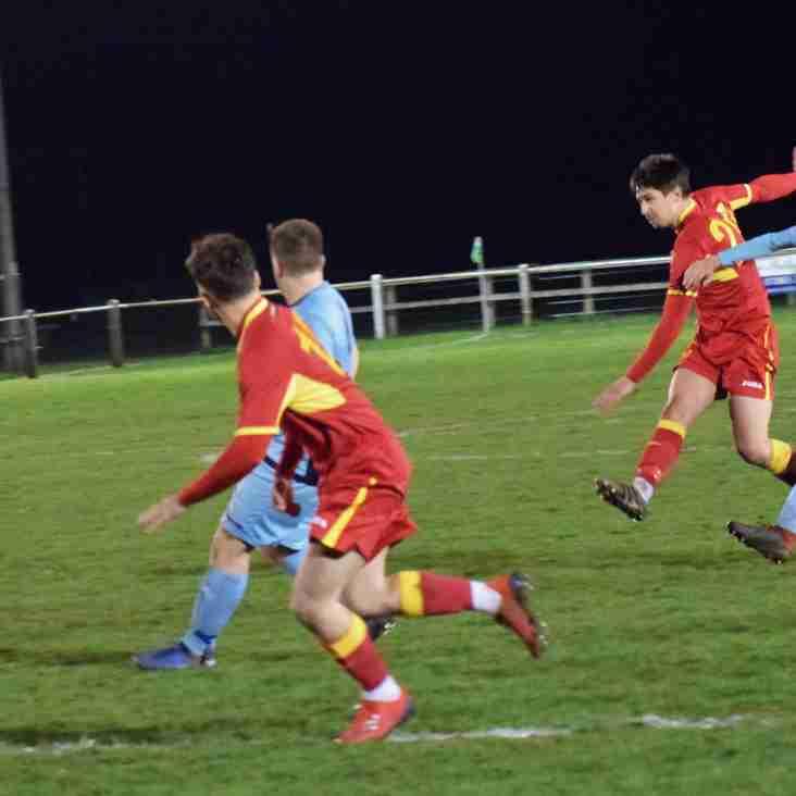 Match report – Oxfordshire Senior Cup semi-final